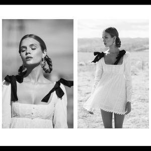 a162a7e87ed For Love And Lemons Dresses - Charlotte eyelet babydoll dress